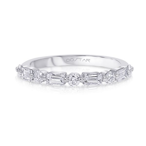 Diamond Shared Prong Stackable/Wedding Band Carter's Jewelry, Inc. Petal, MS