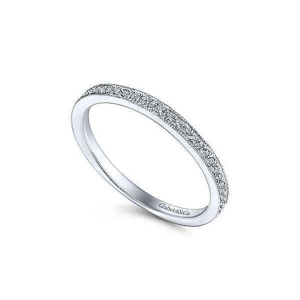 Pave Diamond Stackable/Wedding Band Image 2 Carter's Jewelry, Inc. Petal, MS