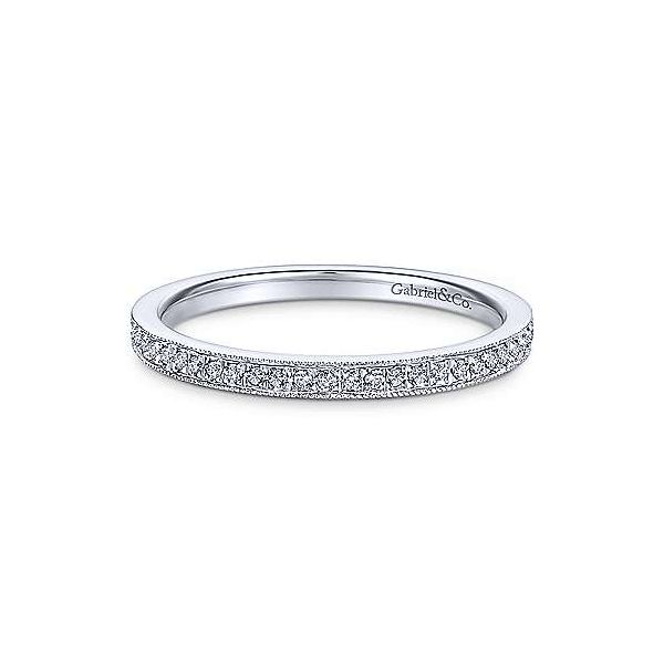Pave Diamond Stackable/Wedding Band Carter's Jewelry, Inc. Petal, MS