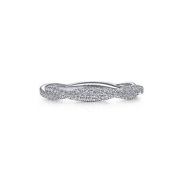 Closed Infinity Diamond Stackable/Wedding Band Carter's Jewelry, Inc. Petal, MS