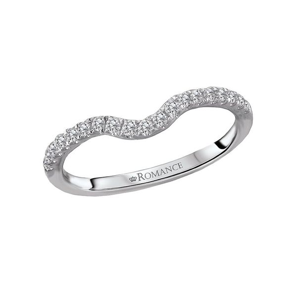 Curved Diamond Wedding Band Carter's Jewelry, Inc. Petal, MS
