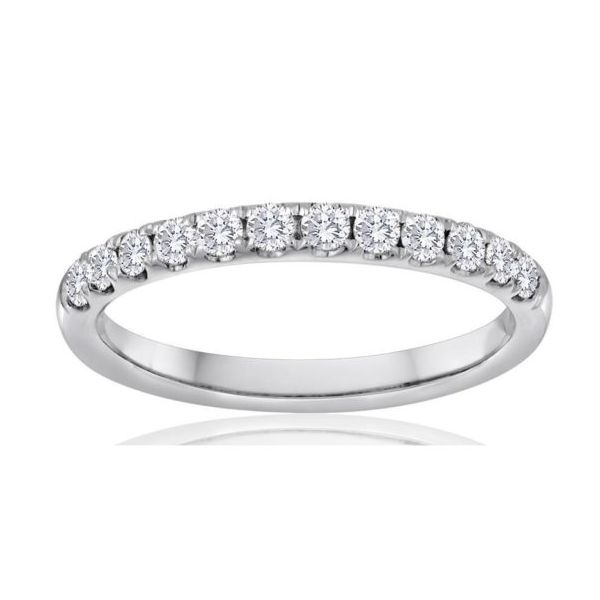 Straight Diamond Wedding Band, 1/4ct Carter's Jewelry, Inc. Petal, MS