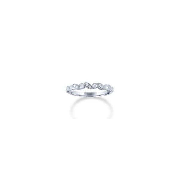 Alternating Diamond Wedding/ Stackable Band Carter's Jewelry, Inc. Petal, MS