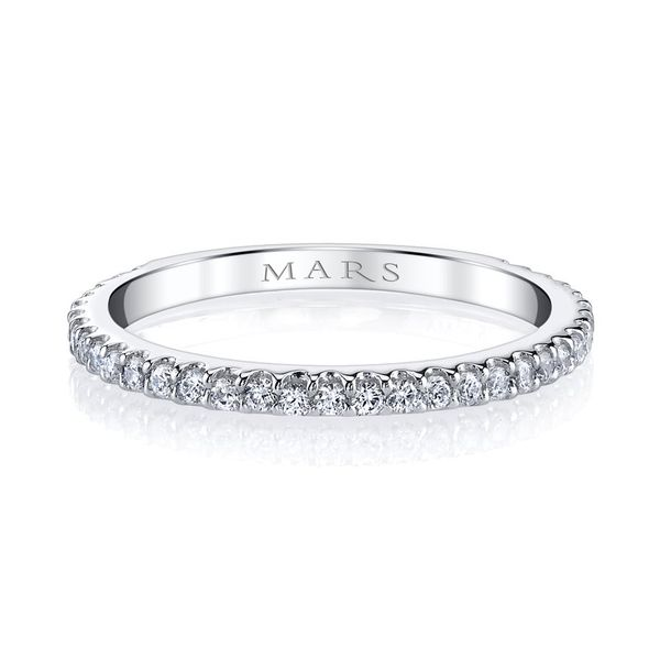 Straight Diamond Stackable/ Wedding Band Carter's Jewelry, Inc. Petal, MS