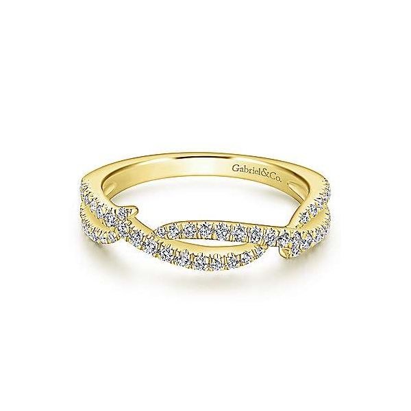 Scalloped Diamond Wedding/ Stackable Band Carter's Jewelry, Inc. Petal, MS