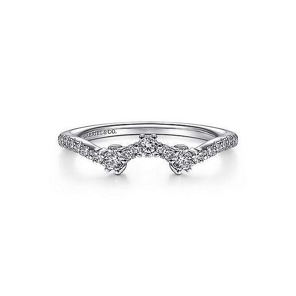 Contour Diamond Wedding Band Carter's Jewelry, Inc. Petal, MS