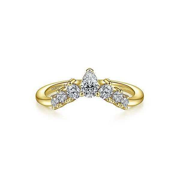 Pear Shaped Contour Graduated Diamond Wedding Band Carter's Jewelry, Inc. Petal, MS