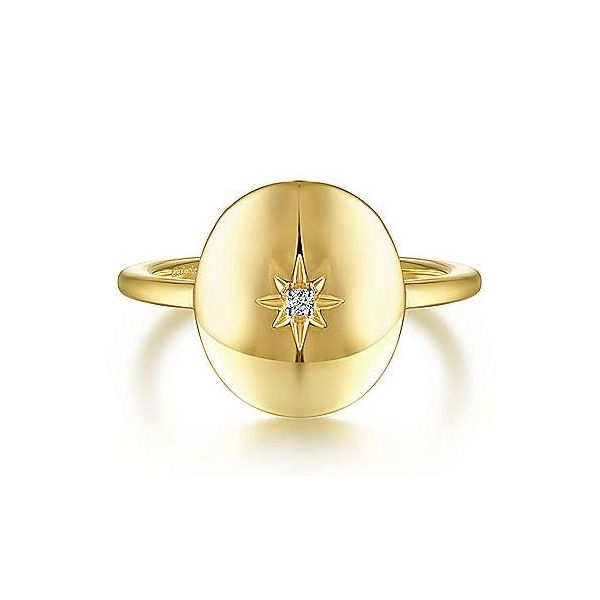 Oval Starburst Signet Ring Carter's Jewelry, Inc. Petal, MS