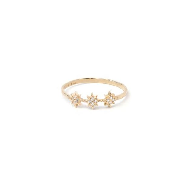 Aztec North Star Trio Ring Carter's Jewelry, Inc. Petal, MS