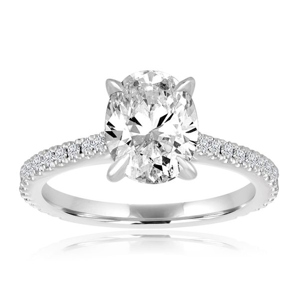 Round Diamond Solitaire Semi Mounted Engagement Ring Carter's Jewelry, Inc. Petal, MS
