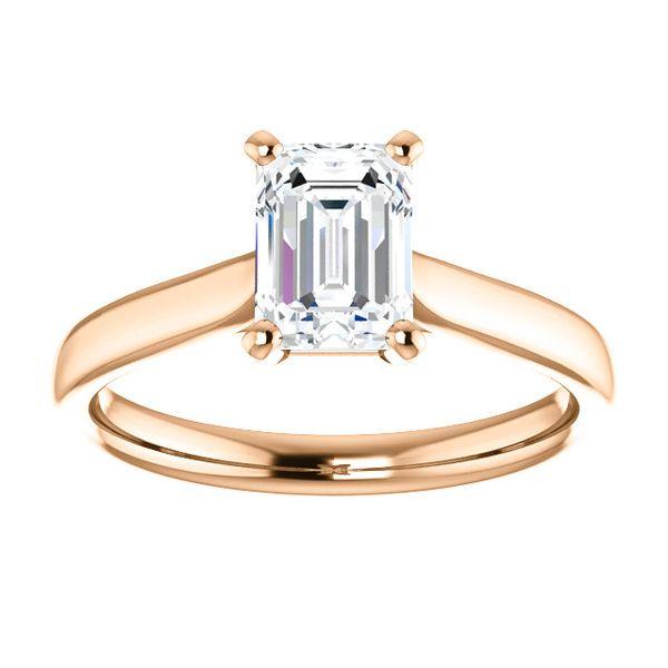 Classic Solitaire Semi Mounted Engagement Ring Carter's Jewelry, Inc. Petal, MS