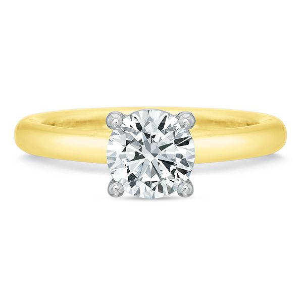 Rounded Shank Classic Solitaire Semi Mounted Engagement Ring Carter's Jewelry, Inc. Petal, MS