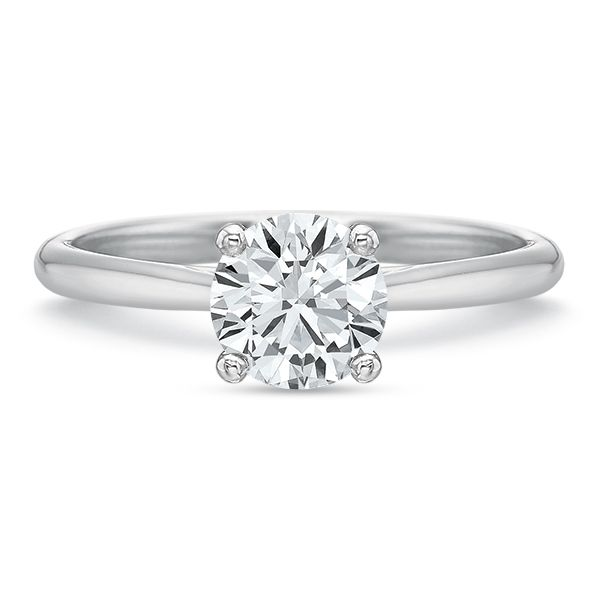 Classic 4 Prong Solitaire Semi Mounted Engagement Ring Carter's Jewelry, Inc. Petal, MS