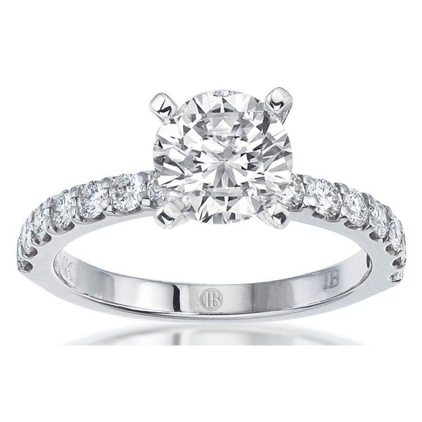 Diamond Solitaire Semi Mount Engagement Ring (DOES NOT INCLUDE CENTER STONE) Carter's Jewelry, Inc. Petal, MS