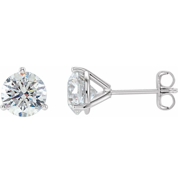 Martini Set Diamond Stud Earrings, 0.50cttw Carter's Jewelry, Inc. Petal, MS