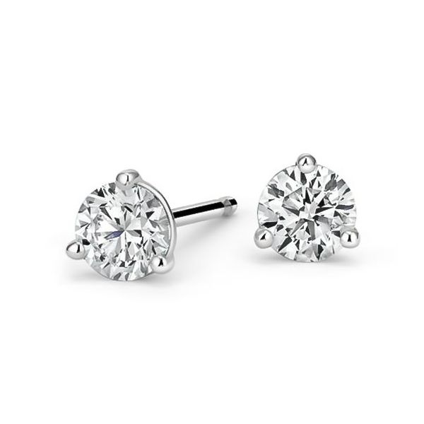 Forevermark Martini Set Diamond Studs, 0.74cttw Carter's Jewelry, Inc. Petal, MS