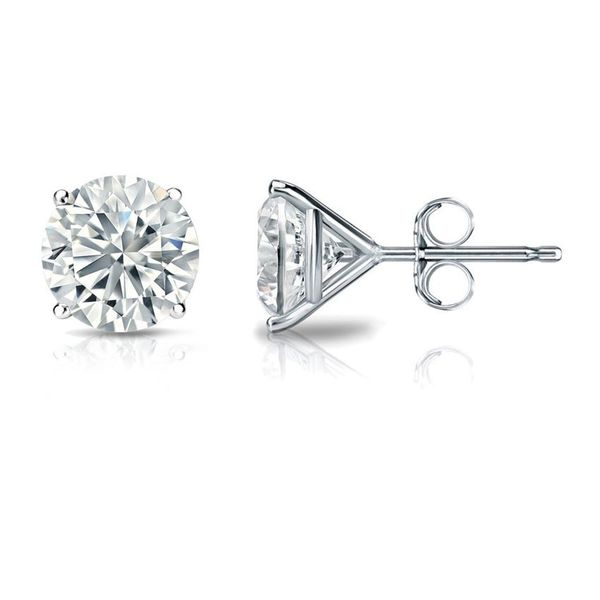 Diamond Stud Earrings, 0.25cttw Carter's Jewelry, Inc. Petal, MS