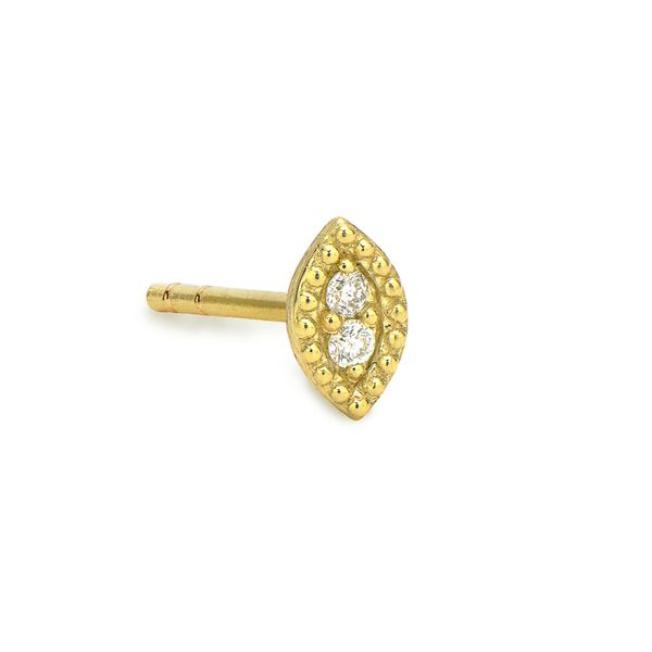 Petite Diamond Marquise Stud Earring Carter's Jewelry, Inc. Petal, MS