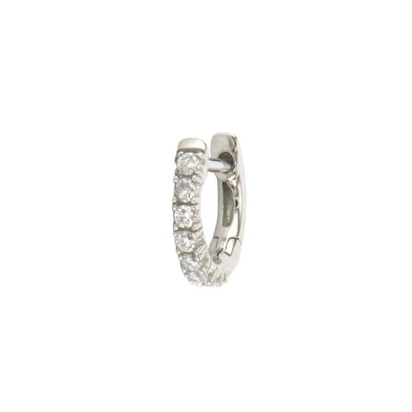 Petite Pave Hoop Earring Carter's Jewelry, Inc. Petal, MS