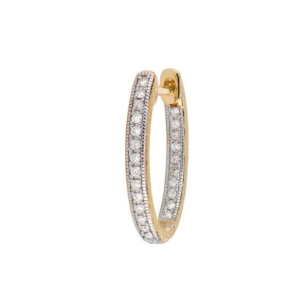 Delicate Small Oval Hoop Earring (Pair) Carter's Jewelry, Inc. Petal, MS