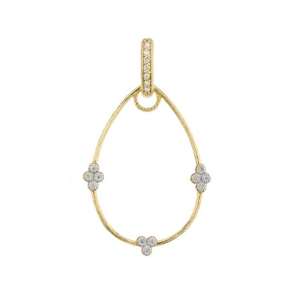 Simple Provence Pear Earring Charm Frames (Pair of Frames) Carter's Jewelry, Inc. Petal, MS