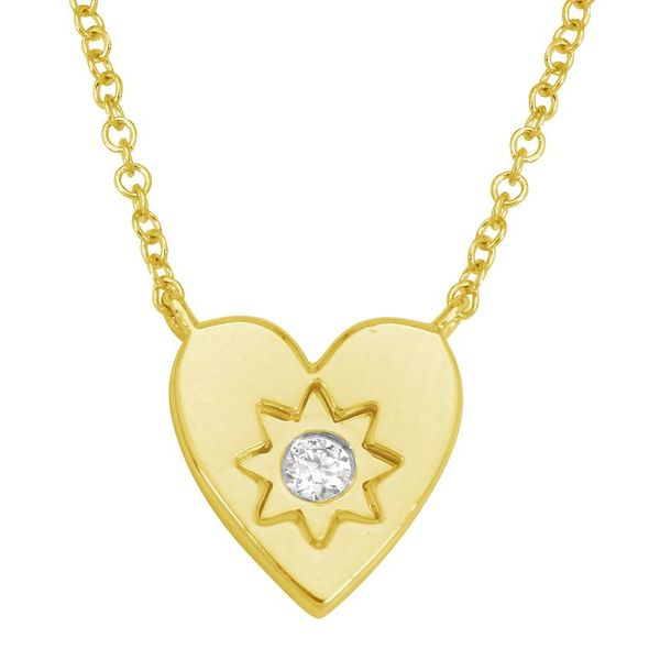 Heat Shape Starburst Diamond Necklace Carter's Jewelry, Inc. Petal, MS