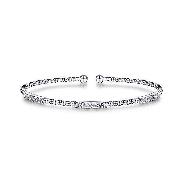 Pave Diamond Station Bujukan Bracelet Carter's Jewelry, Inc. Petal, MS