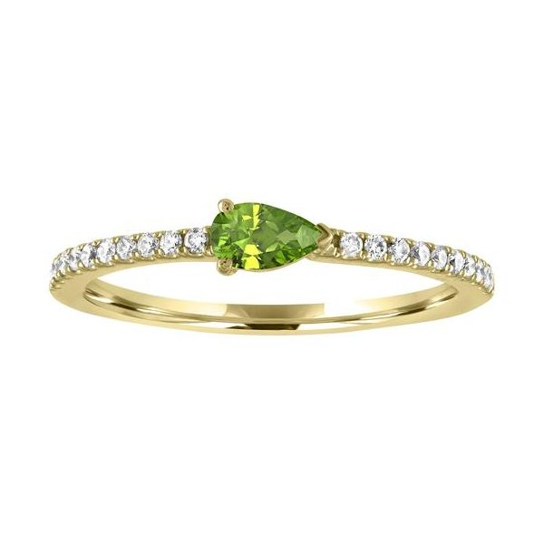 The Layla Peridot Gemstone Stackable Carter's Jewelry, Inc. Petal, MS
