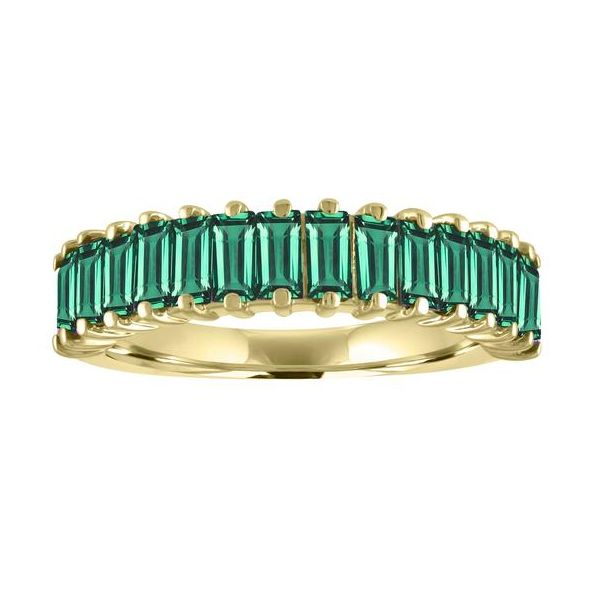 The Cassidy Emerald Baguette Stackable Carter's Jewelry, Inc. Petal, MS