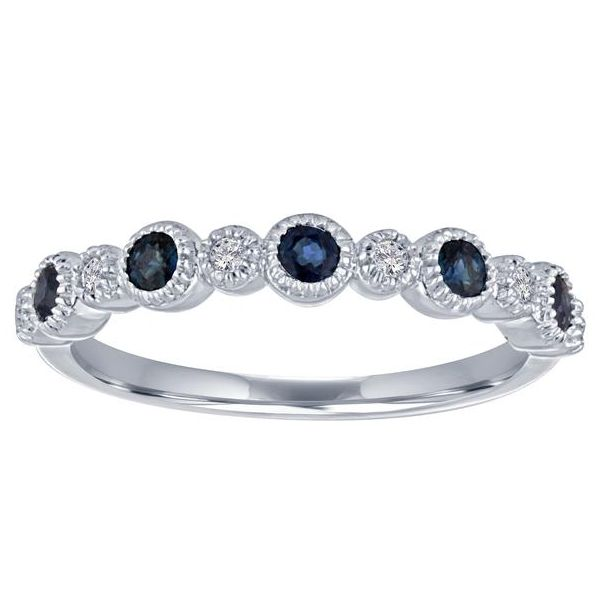The Ana Sapphire and Diamond Stackable Carter's Jewelry, Inc. Petal, MS