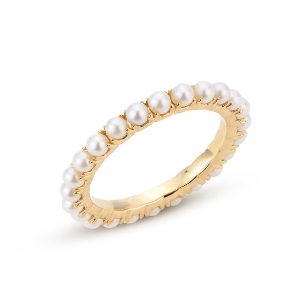 Freshwater Pearl Eternity Band Carter's Jewelry, Inc. Petal, MS