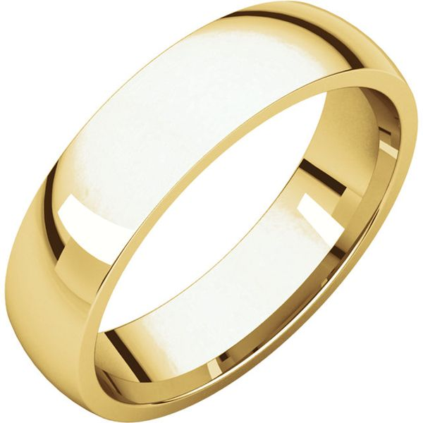 Comfort Fit Wedding Band Carter's Jewelry, Inc. Petal, MS