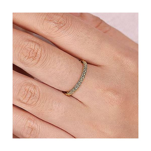 Braided Stackable/Wedding Band Image 2 Carter's Jewelry, Inc. Petal, MS
