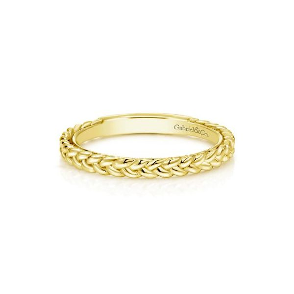 Braided Stackable/Wedding Band Carter's Jewelry, Inc. Petal, MS