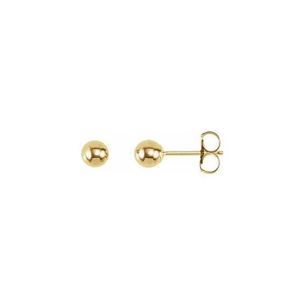 Ball Studs, 4mm Carter's Jewelry, Inc. Petal, MS