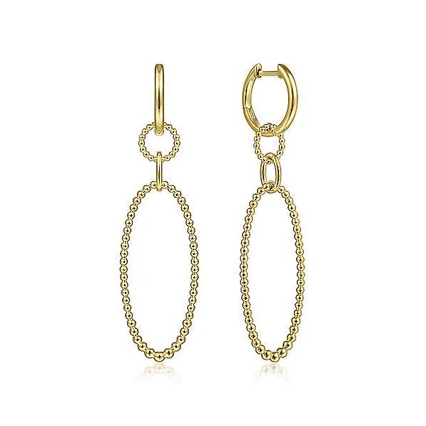 Bujukan Oval Drop Earrings Carter's Jewelry, Inc. Petal, MS