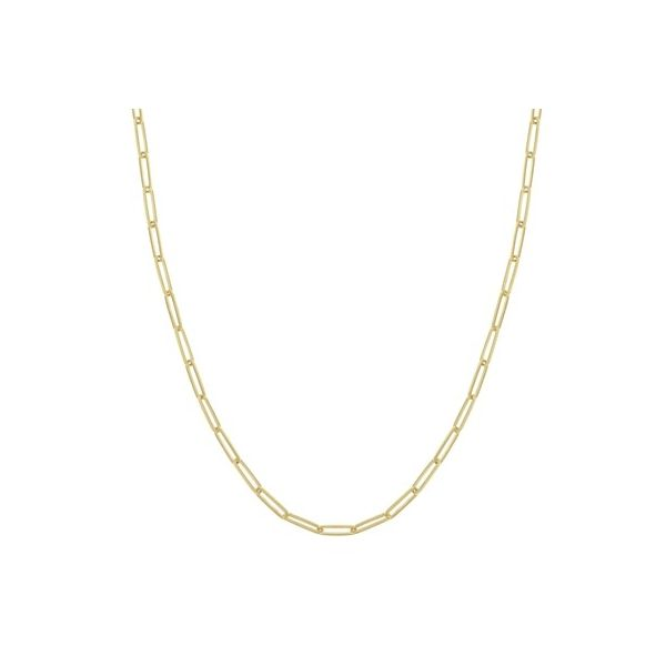 Medium Paper Clip Link Chain Carter's Jewelry, Inc. Petal, MS