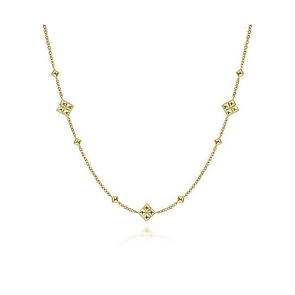 Quatrefoil Station Necklace Carter's Jewelry, Inc. Petal, MS