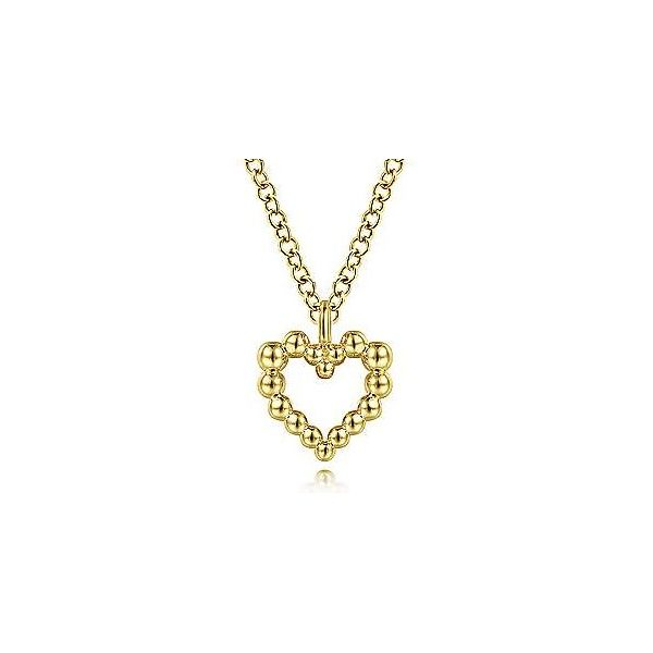 Bujukan Open Heart Necklace Carter's Jewelry, Inc. Petal, MS