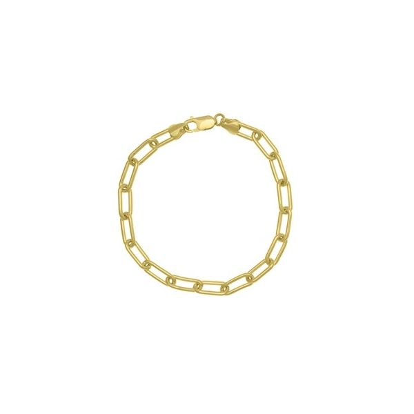 Paperclip Chain Bracelet Carter's Jewelry, Inc. Petal, MS