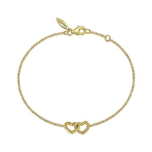 Interlocking Hearts Chain Bracelet Carter's Jewelry, Inc. Petal, MS