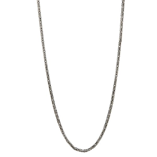 Sterling Silver Woven Chain Carter's Jewelry, Inc. Petal, MS