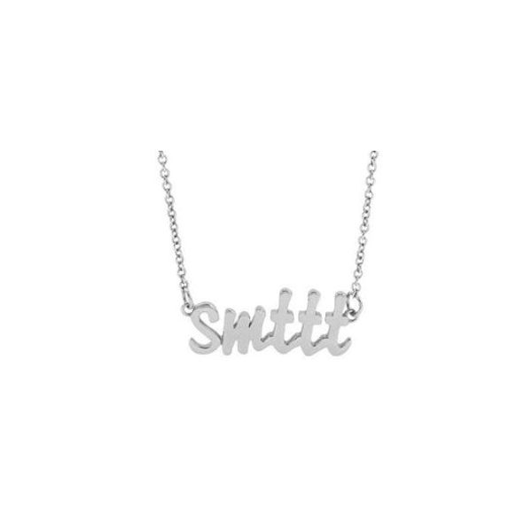 Sterling Silver SMTTT Necklace Carter's Jewelry, Inc. Petal, MS