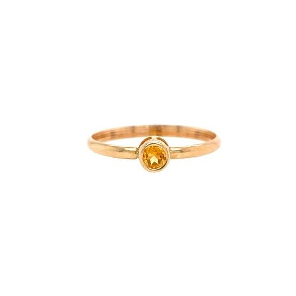 Carter's Kid's Bezel Citrine Ring Carter's Jewelry, Inc. Petal, MS