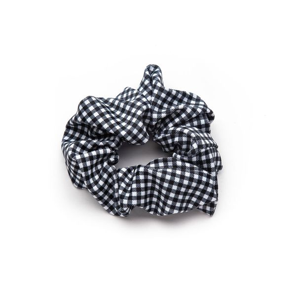 Black + White Gingham Bunchie Carter's Jewelry, Inc. Petal, MS