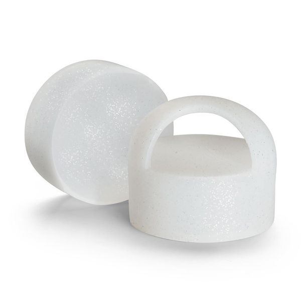 LOOP - DIAMOND WHITE SILICONE CAP Carter's Jewelry, Inc. Petal, MS