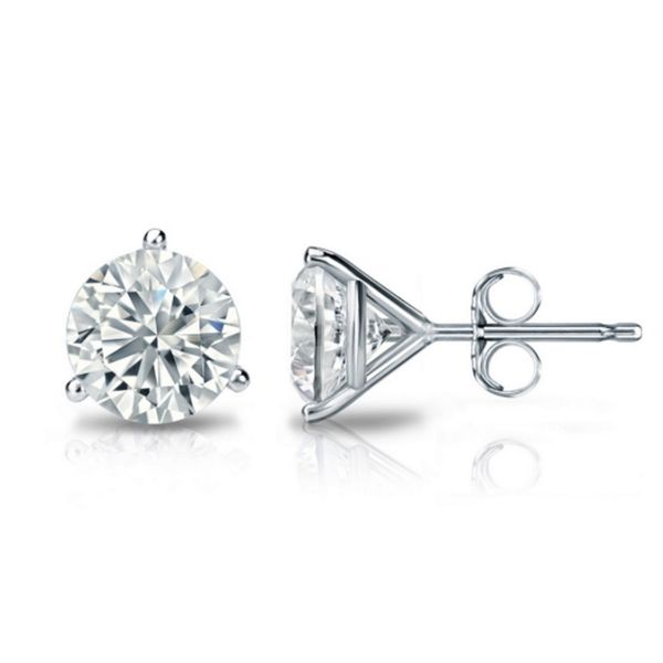 LG Diamond Studs Cellini Design Jewelers Orange, CT