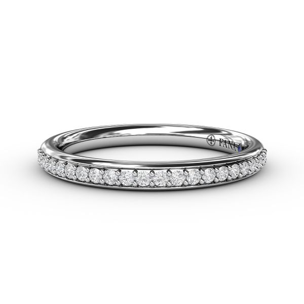 14K White Gold Diamond Wedding Band Champaign Jewelers Champaign, IL