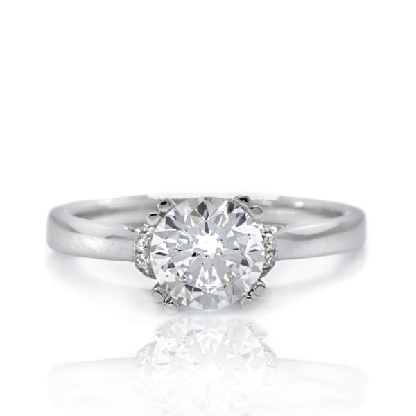 Diamond Engagement Ring Semi Mount Champaign Jewelers Champaign, IL