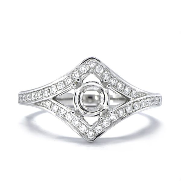 Semi-Mount Diamond Engagement Ring Champaign Jewelers Champaign, IL